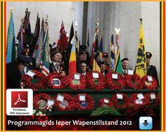 Wapenstilstands Herdenking in Ieper Ypres.