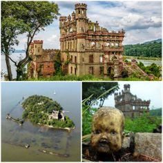 This abandoned island castle was considered cursed by the Native Americans, considering its unlucky history, they might have been right..