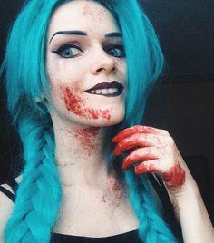 My own Bloody Jinx makeup - Imgur