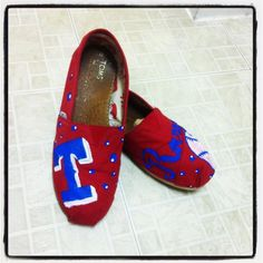 Texas Rangers custom-toms-by-tkcc