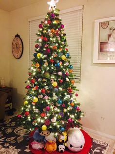 My tsum tsum Christmas tree .