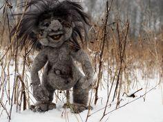Trold i sne Neddlefelt troll