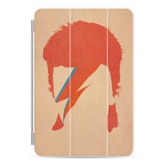 David Bowie / Ziggy Stardust - iPad Cover / Case ($50) ❤ liked on Polyvore featuring accessories, tech accessories, ipad cover / case, ipad cover case, apple ipad case, ipad cases, ipad sleeve case and apple ipad cover case