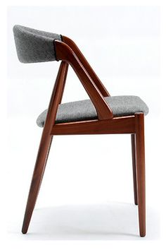 "xewana: "" Dining chair by Kai Kristiansen, 1960's. """