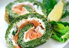 Votre recette de la semaine : Roulés aux épinards et saumon - blog Montignac