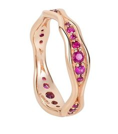 Fernando Jorge Fluid Ruby Band Rose Gold Ring available to buy at Harrods. Shop women's jewellery online and earn Rewards points.