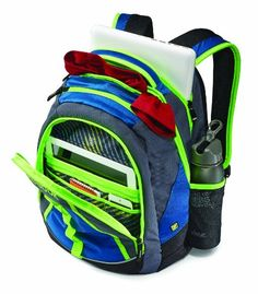 Maxxum Swiss Gear by Wenger Notebook Backpack - Blue - Click image ...