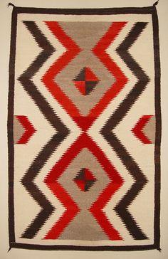 Traditional Navajo Geometric Design Native American Indian Wall
