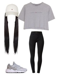 """Tommy boy"" by ajamarks64 ❤ liked on Polyvore featuring J Brand, Hilfiger and Tommy Hilfiger"