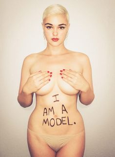 Can we first stop and acknowledge how beautiful Stefania Ferrario is? And her body is amazeballz! #allwomenarerealwomen