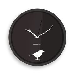 "Wall Clock 8"" Early Bird  By Kikkerland Design  $5.00"