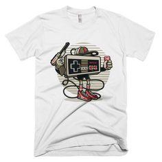 Video Game Head Short sleeve men's t-shirt