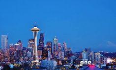 My beautiful city.  Seattle, WA