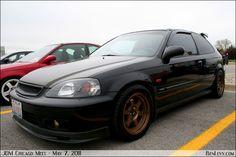Ek Honda Crx, Honda Civic, Ek Hatch, Black Cars, Import Cars, Jdm, Racing, Vehicles, Running