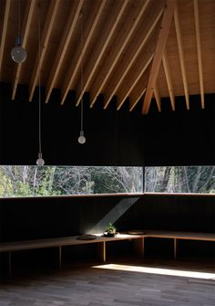 Sacred space - continuous window ~~~~~~~~~~~~~~~~~~~~~~~~~~~~~~~~~ dai nagasaka, mega, a house in omiya, Japan Japanese Architecture, Interior Architecture, Interior And Exterior, Interior Design, Beautiful Space, Beautiful Homes, Le Ranch, Built Environment, Arches