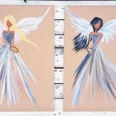Jin Jang Angels - paiting