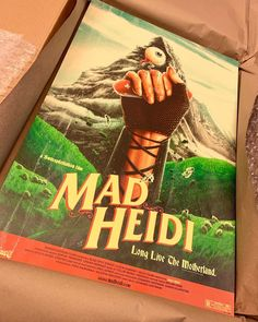 """MAD HEIDI's Instagram post: """"Finally! Matt Ryan Tobin prints have arrived and they look stunning! 😍 . Shipping next week. They are currently sold out in the store, but…"""" Matt Ryan, Next Week, Mad, Store, Instagram Posts, Prints, Larger, Shop"""