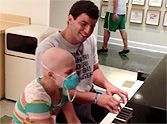 College Football Player Performs a Touching Duet With a Girl Battling Cancer ~ UNBELIEVABLE TALENT!!!