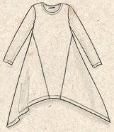 Blusen & Tuniken - bunt und bequem   Gudrun Sjödén Tunic Sewing Patterns, Blouse Patterns, Clothing Patterns, Diy Clothing, Sewing Clothes, Baby Hats Knitting, Knitted Hats, Moda Natural, Refashion