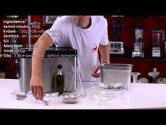 Domácí pekárna Sana - Návod na přípravu kváskového chleba - YouTube Liquid Measuring Cup, Favorite Recipes, Youtube, Pane, Tips, Advice, Youtubers, Youtube Movies