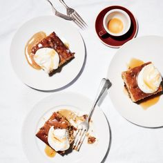 Banana Sticky Toffee Pudding | Get the recipe for Banana Sticky Toffee Pudding from Food & Wine.