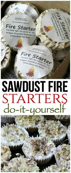 Sawdust fire starters are easy to make and incredibly useful when camping, for bonfires, backpacking or even during the winter. Sawdust fire starters are easy to make and incredibly useful when camping, for bonfires, backpacking or even during the winter. Survival Food, Camping Survival, Survival Prepping, Survival Skills, Survival Hacks, Survival School, Sawdust Fire Starters, Camping Fire Starters, Diy Camping