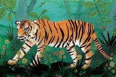 Bengal Tiger by Becca Stadtlander  http://3.bp.blogspot.com/-cHw1n_e69yU/T-p2pIwA_zI/AAAAAAAAK54/S7N1rm7WHqo/s1600/il_570xN.142212877.jpg