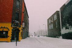 Snowstorm in Montréal / Québec by mustafahacalaki