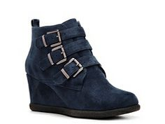 GC Shoes Darby Wedge Bootie- but not blue!