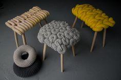 sgabelli crochet