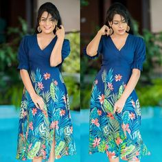 New Casual Frocks Designs in Sri Lanka