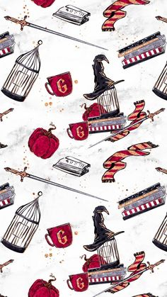 My Gryffindor things