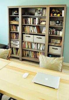 書房牆壁書櫃