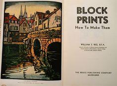 William S. Rice - Block Prints