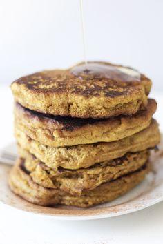 Vegan, Paleo Pumpkin Pancakes