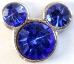 $6.98  September Mickey Mouse Birthstone for your Locket!