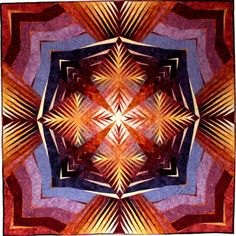"""""""Force Field 3"""" posted to Etsy by Art Quilts by Betty Busby"""
