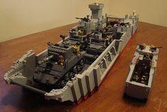 Lego WW2 LCT