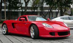 Porsche Carrera GT... Mexico City.
