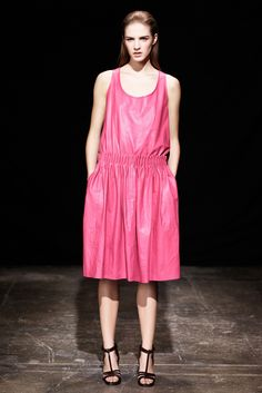 Thakoon Pre-Fall 2013 Fashion Show - Asia Piwka