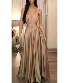Prom Dress For Teens, Stylish A-Line/Princess Silk like Satin Ruffles Spaghetti Straps Sleeveless Floor-Length Dresses cheap prom dresses, beautiful dresses for prom. Best prom gowns online to make you the spotlight for special occasions. Elegant Prom Dresses, Cheap Prom Dresses, Formal Evening Dresses, Satin Dresses, Ball Dresses, Ball Gowns, Bridesmaid Dresses, Dress Formal, Dresses Uk