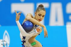 Margarita Mamun (Russia) won the silver medal in ball at Grand Prix (Moscow) 2016