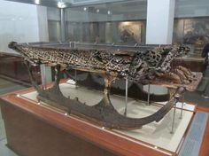Viking Ship Museum: Un traîneau découvert dans un des bateau