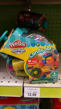 """Toys R Us - Play doh """"candy jar"""". $12.99 ♡Maggie"""