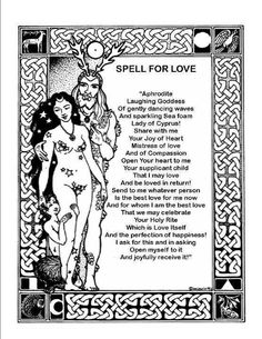 Love spell - couldn't hurt, right? haha