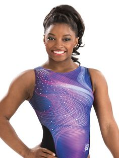 Celestial Orbit Simone Biles Leotard from GK Elite
