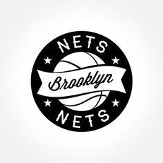 #brooklyn #nets #nba #logo alternatives  from @dcwdesign blog