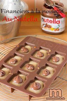 Financiers à la noisette au Nutella - Macaronette et cie