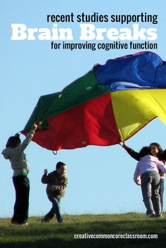 Two Studies Supporting Brain Breaks for Improving Thinking