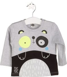 Camiseta combinada Invierno Niño black & white Tuc Tuc